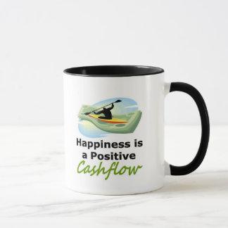 Caneca A felicidade é um cashflow positivo