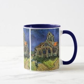 Caneca A igreja em Auvers por Vincent van Gogh