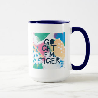 Caneca A inspiração brilhante II | vai obtem-lhes o tigre
