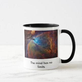 Caneca a orion-nebulosa, a mente não tem nenhum limite