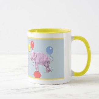 Caneca A vida é uma fantasia do elefante do circo