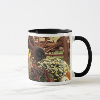 Caneca Abóboras de outono e exposição da mãe