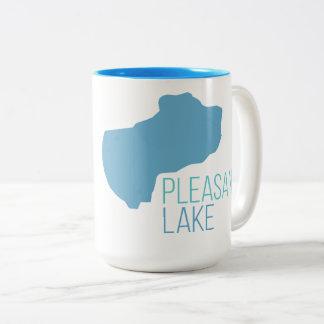 Caneca agradável do lago
