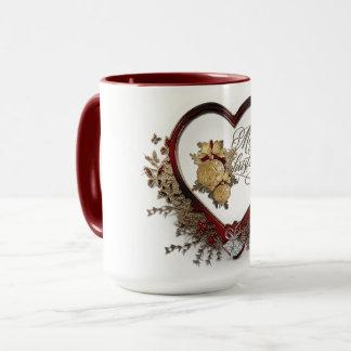 Caneca Agrida, branco, café, chá, bebidas