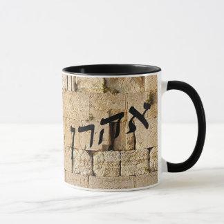 Caneca Aharon, Ahron, Aaron - HaKotel (parede ocidental)