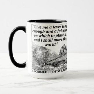 Caneca Alavanca de Archimedes