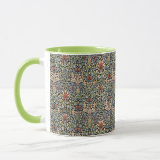 Caneca Alcachofra de William Morris do vintage