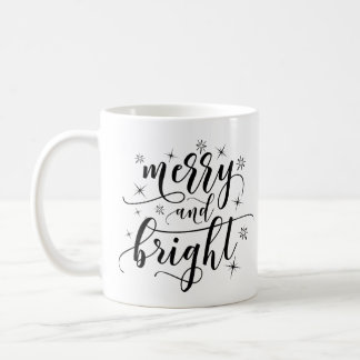 Caneca alegre e brilhante do clássico do Natal