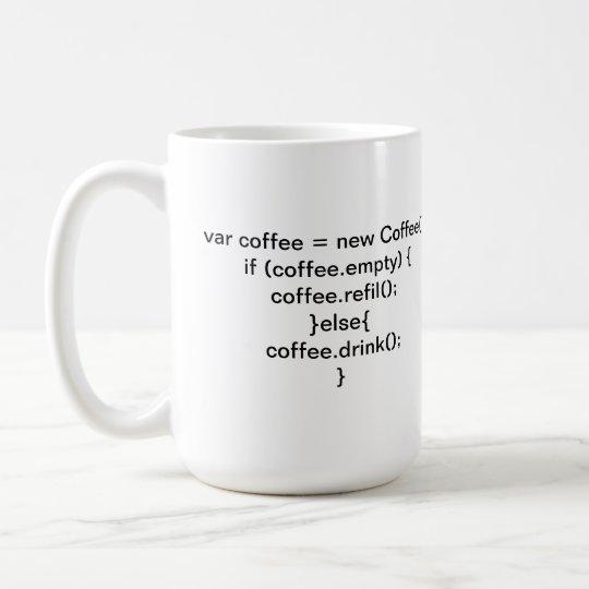 Caneca Algoritmo Coffee