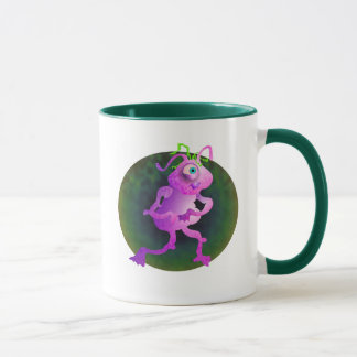 Caneca Alienígena cor-de-rosa
