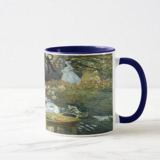 Caneca Almoço por Claude Monet, impressionismo do vintage
