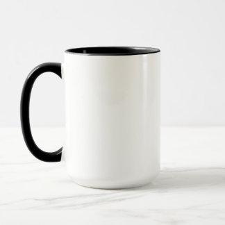 Caneca alta da cafeína do gato