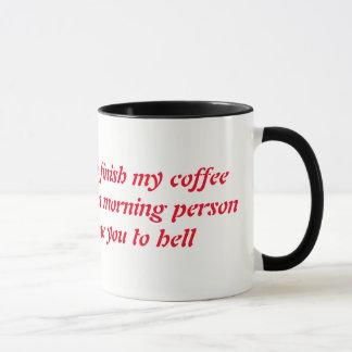 Caneca amante do café