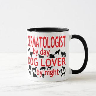 Caneca Amante do cão do dermatologista