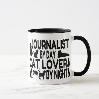 Caneca Amante do gato do journalista