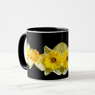 Caneca amarela do Daffodil do primavera