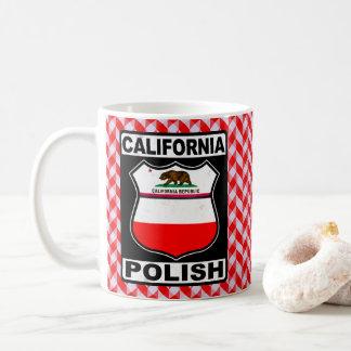 Caneca americana polonesa de Califórnia