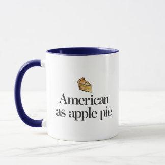 Caneca Americano como a torta de Apple