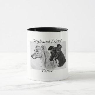 Caneca Amigos do galgo para sempre