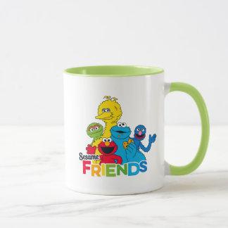 Caneca Amigos do sésamo do Sesame Street  