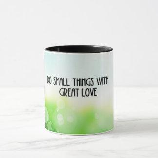 Caneca Amor pequeno das coisas…
