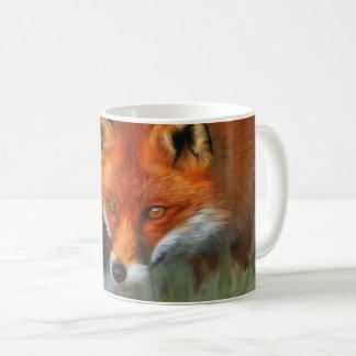 Caneca animal completa vermelha do Fox