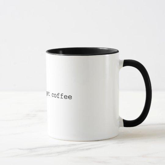 Caneca Apt-Get Coffee