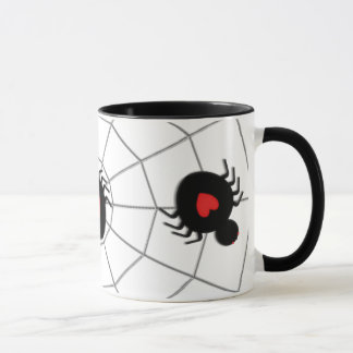 Caneca Aranha do amor