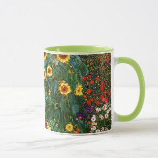Caneca Arte de Gustavo Klimt - cultive o jardim com