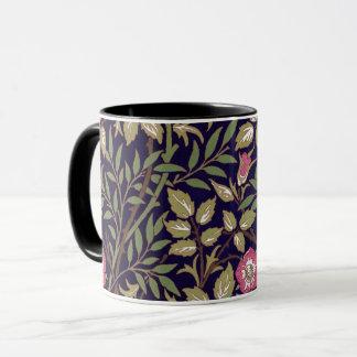 Caneca Arte floral Nouveau do Briar doce de William