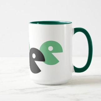 Caneca Arte verde