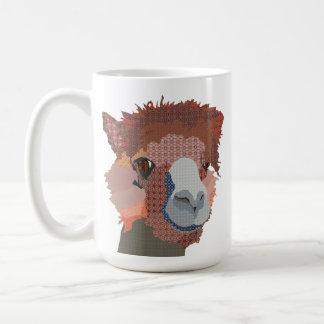 Caneca artística da alpaca