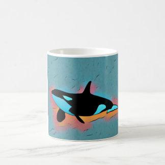 Caneca artística da orca