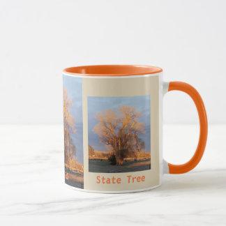 Caneca Árvore dourada do estado de Kansas - Cottonwood