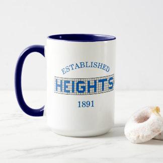 Caneca As alturas de Houston estabeleceram 1891