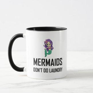 Caneca As sereias não fazem a lavanderia