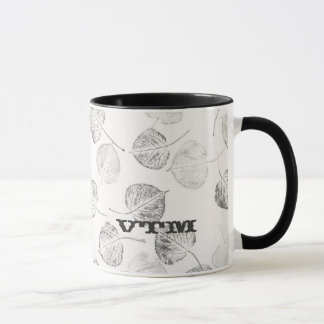 Caneca Aspen ocidental sae do monograma
