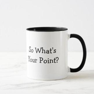 Caneca Assim que é seu ponto?
