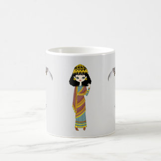 Caneca Assyrian da rainha