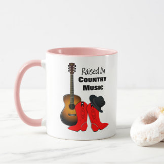 Caneca Aumentado na vaqueira legal da música country