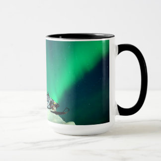 Caneca Aurora do Snowmobile