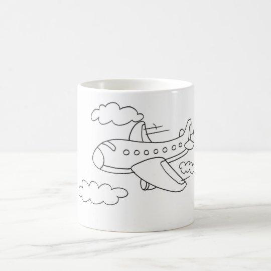 Caneca Avião Animado