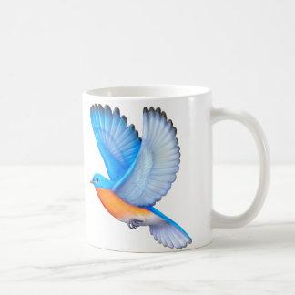 Caneca aviária de voo da arte do Bluebird oriental