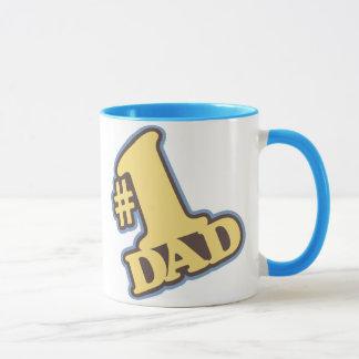 Caneca azul da campainha do pai #1