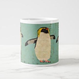 Caneca azul da lagoa dos pinguins jumbo mug