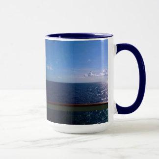 Caneca Azul de oceano