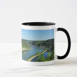 Caneca Bacia do reno a das Loreley