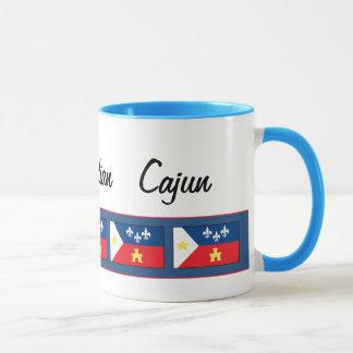 Caneca Bandeira de Acadiana Cajun