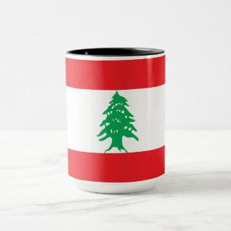 Caneca Bandeira de Líbano