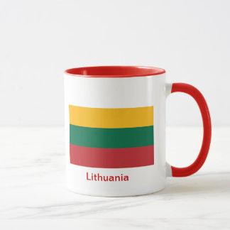 Caneca Bandeira de Lithuania